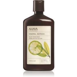 Ahava Mineral Botanic Lemon & Sage nežna krema za prhanje limona + žajbelj  500 ml