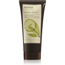 Ahava Mineral Botanic Lemon & Sage nežna krema za roke limona + žajbelj  100 ml