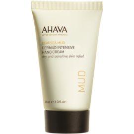 Ahava Dead Sea Mud intenzívny krém na ruky pre suchú a citlivú pokožku  40 ml