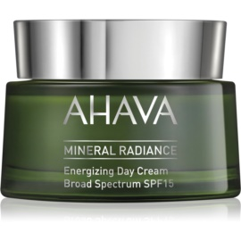 Ahava Mineral Radiance poživitvena dnevna krema SPF 15  50 ml