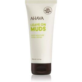 Ahava Dead Sea Mud hĺbkovo hydratačný krém na ruky  100 ml