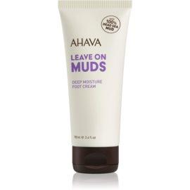 Ahava Dead Sea Mud globinsko vlažilna krema za noge  100 ml