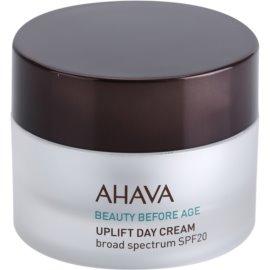 Ahava Beauty Before Age liftingový krém pro rozjasnění a vyhlazení pleti SPF 20  50 ml