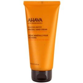Ahava Deadsea Water Mandarin & Cedarwood minerálny krém na ruky  100 ml