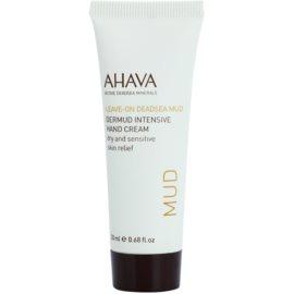 Ahava Dead Sea Mud intensive Creme für Hände für trockene und empfindliche Haut  20 ml