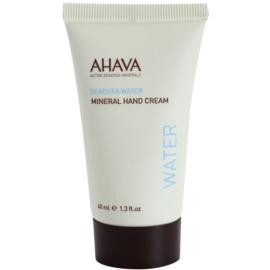 Ahava Dead Sea Water minerálny krém na ruky  40 ml