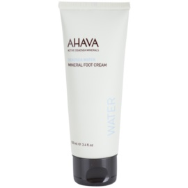 Ahava Deadsea Water minerální krém na nohy  100 ml