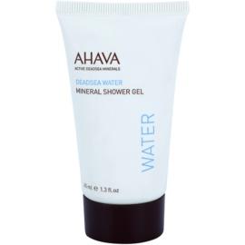 Ahava Dead Sea Water minerální sprchový gel s hydratačním účinkem  40 ml