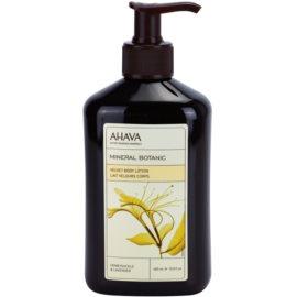 Ahava Mineral Botanic Honeysuckle & Lavender Bodylotion mit Samteffekt Geißblatt und Lavendel  400 ml