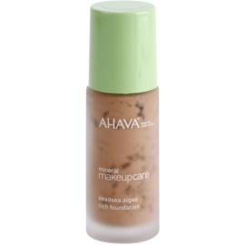 Ahava Mineral Make-Up Care matující make-up pro všechny typy pleti Terra-Dark 30 ml