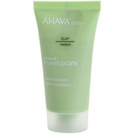 Ahava Mineral Make-Up Care lehký matující make-up pro normální až mastnou pleť Clay-Medium 30 ml