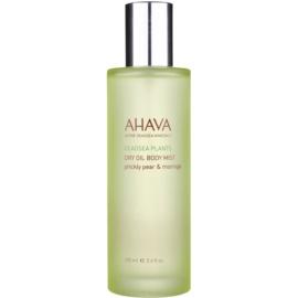 Ahava Dead Sea Plants Prickly Pear & Moringa suchý tělový olej ve spreji opuncie a moringa  100 ml