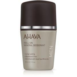 Ahava Time To Energize Men mineralni deodorant roll-on  50 ml