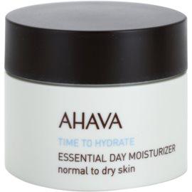 Ahava Time To Hydrate dnevna vlažilna krema za normalno do suho kožo  50 ml