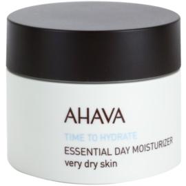 Ahava Time To Hydrate dnevna vlažilna krema za zelo suho kožo  50 ml