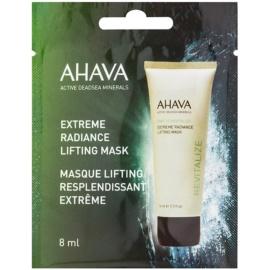 Ahava Time To Revitalize rozjasňující liftingová maska  8 ml