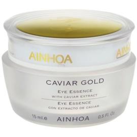 Ainhoa Luxe Gold oční gelový krém s kaviárem  15 ml