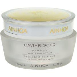 Ainhoa Luxe Gold krem na dzień i na noc z kawiorem  50 ml