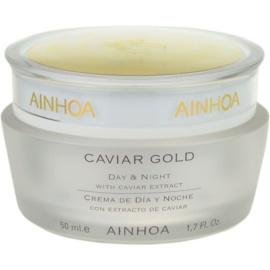 Ainhoa Luxe Gold denní a noční krém s kaviárem  50 ml