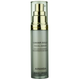 Ainhoa Luxe Gold serum za obraz s kaviarjem  30 ml