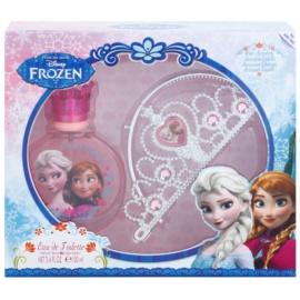 Air Val Frozen dárková sada I. toaletní voda 100 ml + korunka  + čelenka