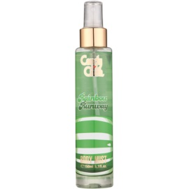 Air Val Candy Crush Rainbow Runway spray de corpo para crianças 150 ml