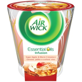 Air Wick Essential Oil Deco Sugar Apple & Warm Cinnamon Duftkerze  105 g