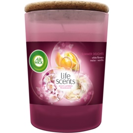 Air Wick Life Scents Summer Delights ароматна свещ  185 гр.
