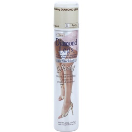 AirStocking Diamond Legs harisnya spray formában SPF 25 árnyalat 01 Light Natural Party 56,7 g