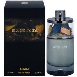 Ajmal Accord Boise Eau de Parfum para homens 75 ml