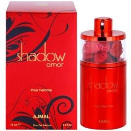 Ajmal Shadow Amor for Her Eau de Parfum para mulheres 75 ml