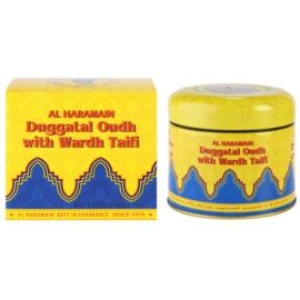 Al Haramain Duggatal Oudh with Wardh Taifi tamaie 50 g