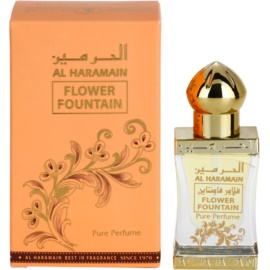 Al Haramain Flower Fountain parfümiertes Öl für Damen 12 ml