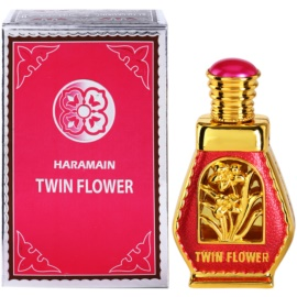 Al Haramain Twin Flower Perfumed Oil for Women 15 ml