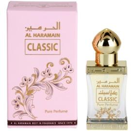 Al Haramain Classic aceite perfumado unisex 12 ml