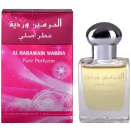 Al Haramain Wardia parfümiertes Öl für Damen 15 ml