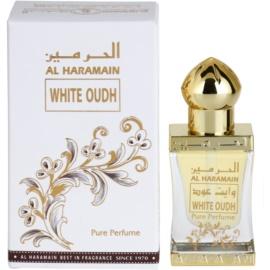 Al Haramain White Oudh parfümiertes Öl unisex 12 ml