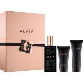 Alaïa Paris Alaïa подаръчен комплект III.  парфюмна вода 100 ml + мляко за тяло 75 ml + душ гел 50 ml