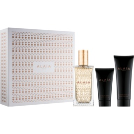 Alaïa Paris Eau de Parfum Blanche dárková sada I.  parfémovaná voda 100 ml + tělové mléko 75 ml + sprchový gel 50 ml