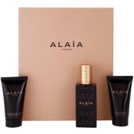 Alaïa Paris Alaïa подаръчен комплект I. парфюмна вода 50 ml + мляко за тяло 50 ml + душ крем 50 ml