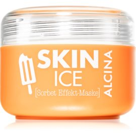 Alcina Skin Ice Sorbet Face Mask with Cooling Effect  150 ml