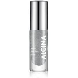 Alcina Summer Breeze Aqua Eye Tint dvofazna senčila za oči z metalnim učinkom odtenek Silver 5 ml
