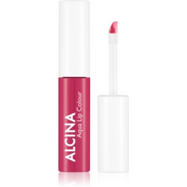 Alcina Summer Breeze Aqua Lip Colour Long-Lasting Lip Gloss Shade waterlily