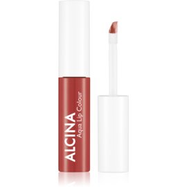 Alcina Summer Breeze Aqua Lip Colour Long-Lasting Lip Gloss Shade Water Reed