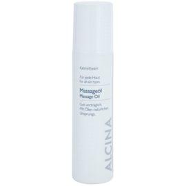Alcina For All Skin Types masážní olej  200 ml