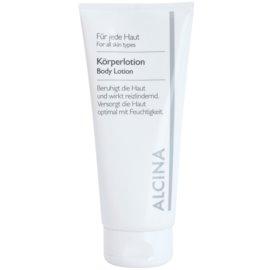 Alcina For All Skin Types Körpermilch mit dem Coenzym Q10  200 ml