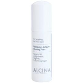 Alcina For All Skin Types mousse nettoyante au panthénol  150 ml