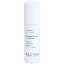 Alcina For All Skin Types mousse de limpeza com pantenol  150 ml