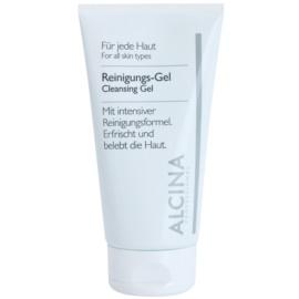 Alcina For All Skin Types tisztító gél aloe verával és cinkkel  150 ml