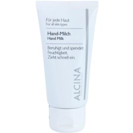 Alcina For All Skin Types Leite para mãos contra a pele seca  50 ml